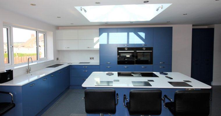 Hampton Windsor Blue with Scots Grey – Swadlincote