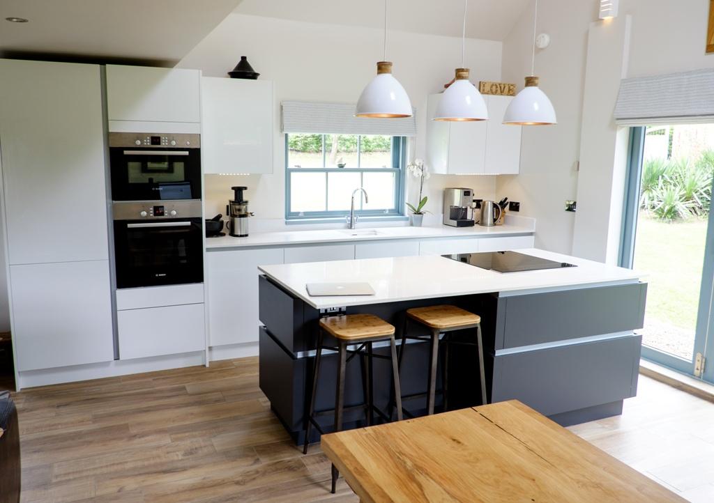 Lumina White with Sutton Graphite – Gorsley