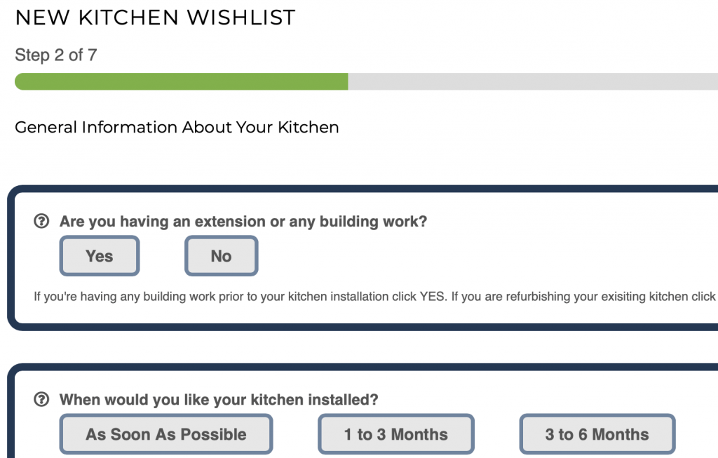 new kitchen wishlist